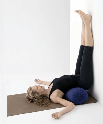 prenatal gazing using restorative yoga for fertility
