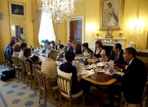 Well+Good White House Seder Dinner