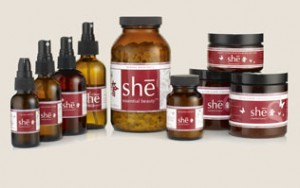 She Essential Beauty products at WellandGoodNYC.com
