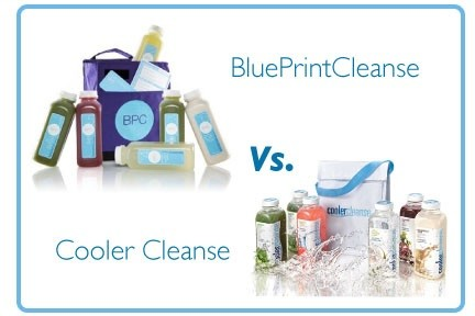 The juice on two rivals blueprintcleanse vs cooler cleanse pin it malvernweather Choice Image