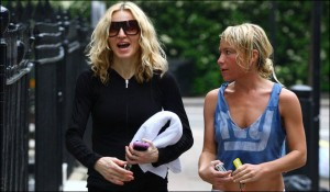 Madonna and Tracy Anderson