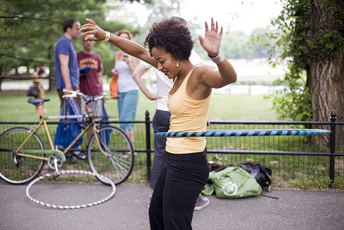 The talented Ava Taylor hooping of Yama Talent Management