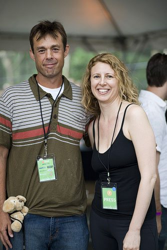 Jeff Krasno of Wanderlust and Melisse Gelula of WellandGoodNYC.com