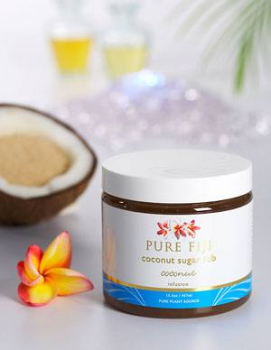 Pure Fiji Coconut Body Scrub on WellandGoodNYC.com