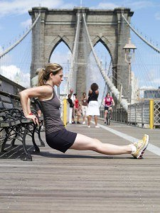 Brooklyn Bridge Boot Camp's founder Ariane Hundt