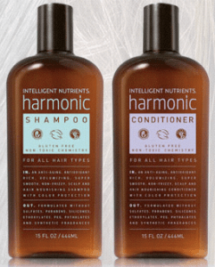 Intelligent Nutrients new Harmonic shampoo and conditioner