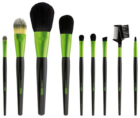 Nvey Eco compostable makeup brushes
