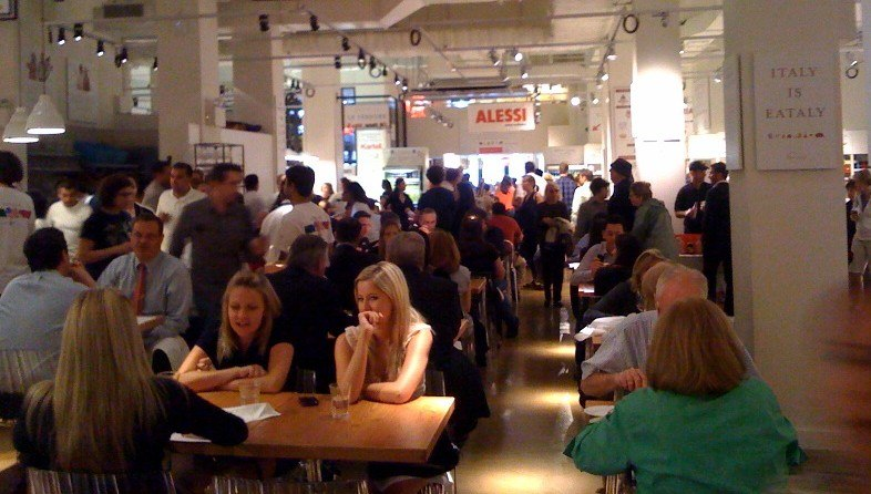Eataly: food court or grocery store?