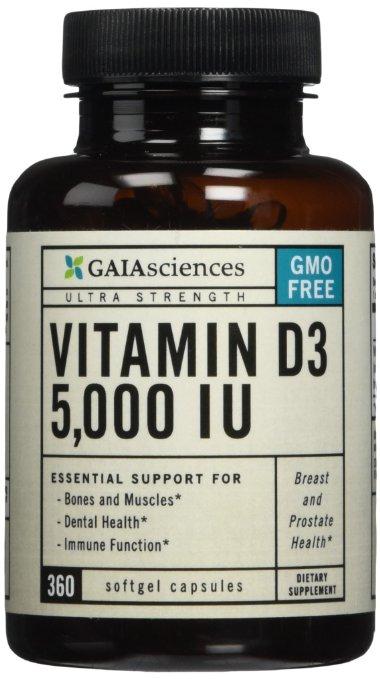 Vitamin D supplements