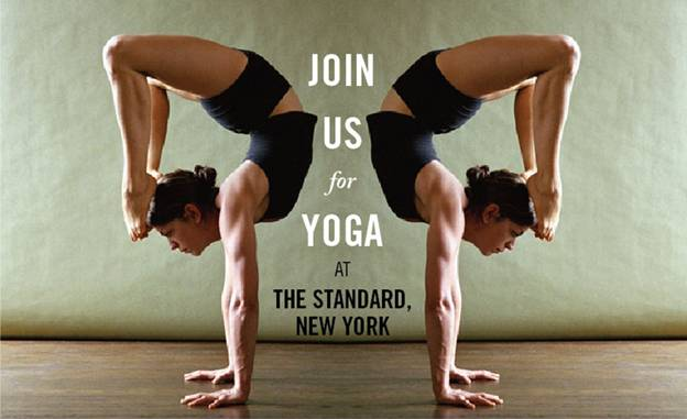 Yoga at the Standard New York