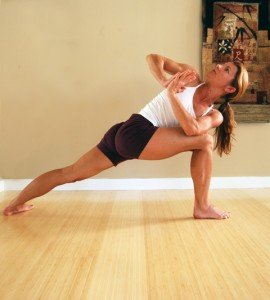 Holly Horvath Twisting Pose