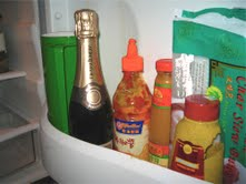 Amanda Cohen's fridge door