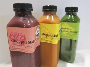 cold-pressed juices and smoothies