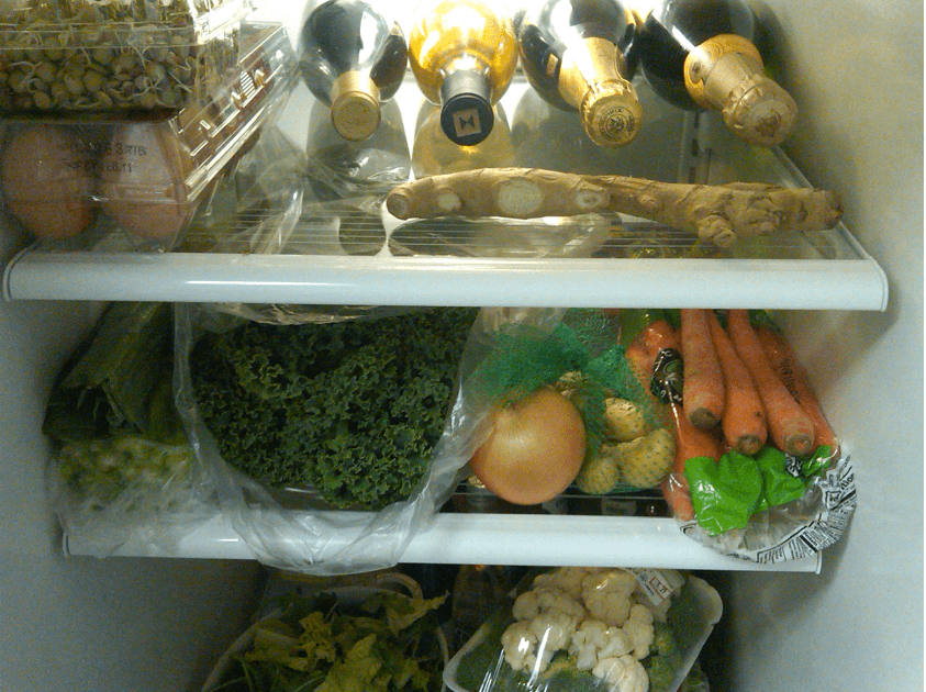 CoreFusion founders' refrigerator
