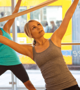 Sadie Lincoln of barre3 is coming to visit Well+Good readers