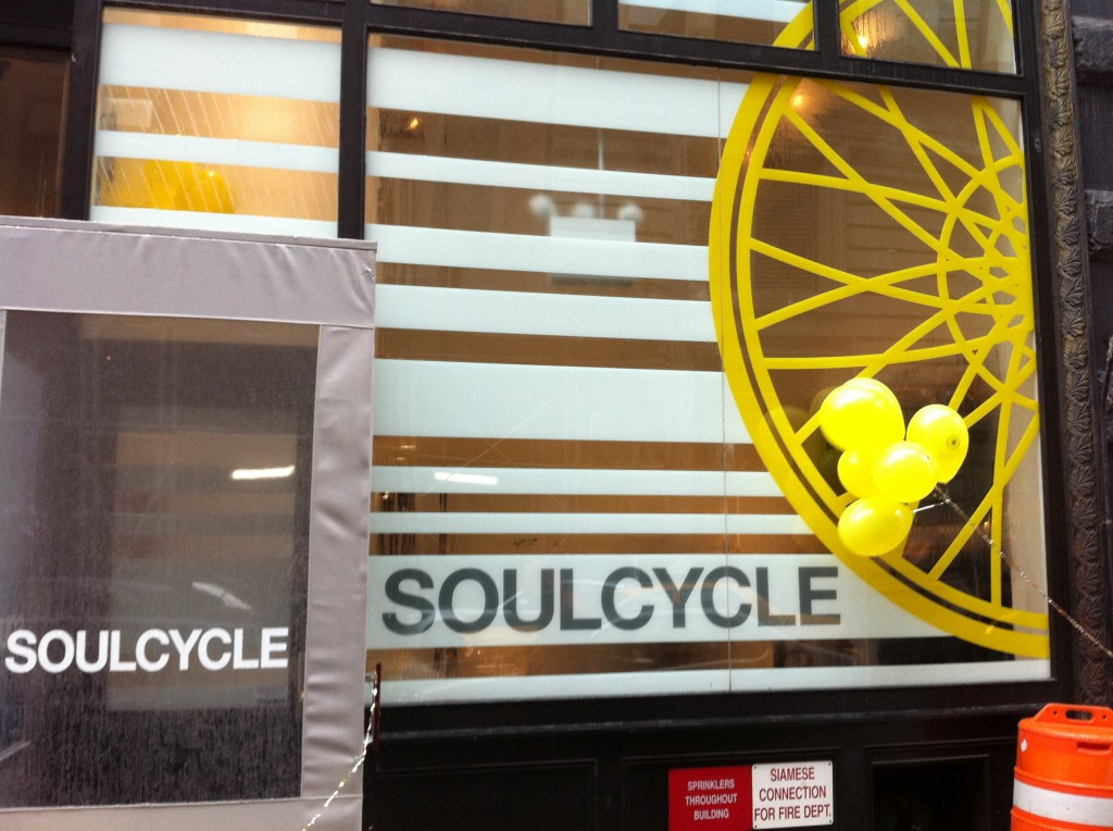 Soul Cycle Union Square opening day