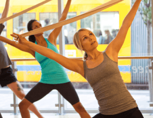 Sadie Lincoln teaches barre3 workout to Well+Good readers [video]