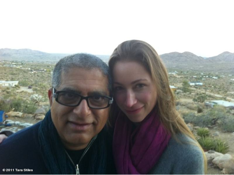 Tara Stiles and Deepak Chopra