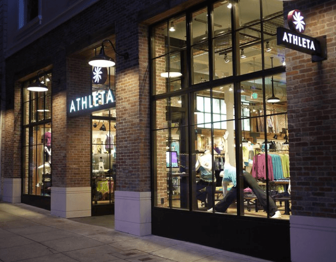 Athleta opens in New York