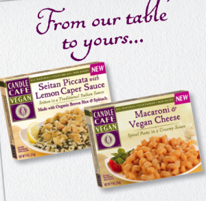 Candle Cafe vegan frozen meals