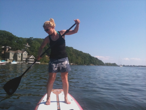 stand-up paddling New York