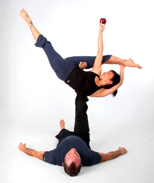 AcroYoga: These yogis can fly | Well+Good
