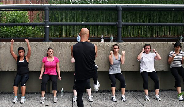 PeaceCore Boot Camp class in New York