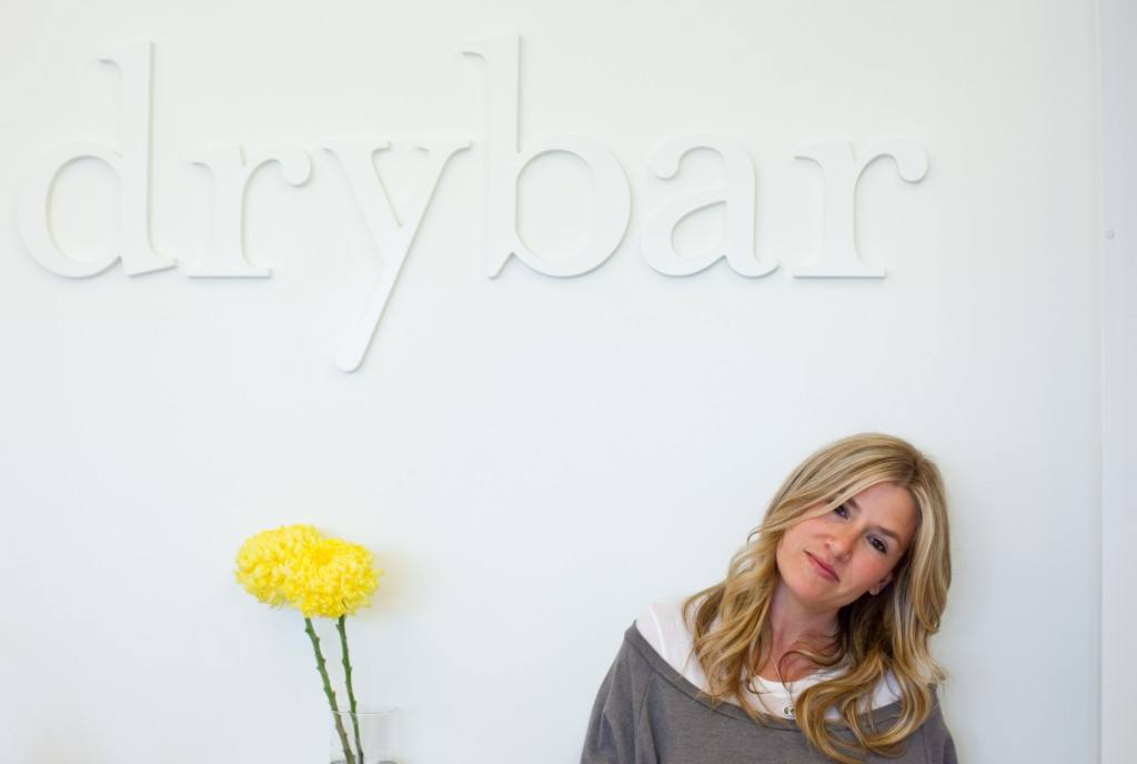 Dry Bar founder Allie Webb in New York City