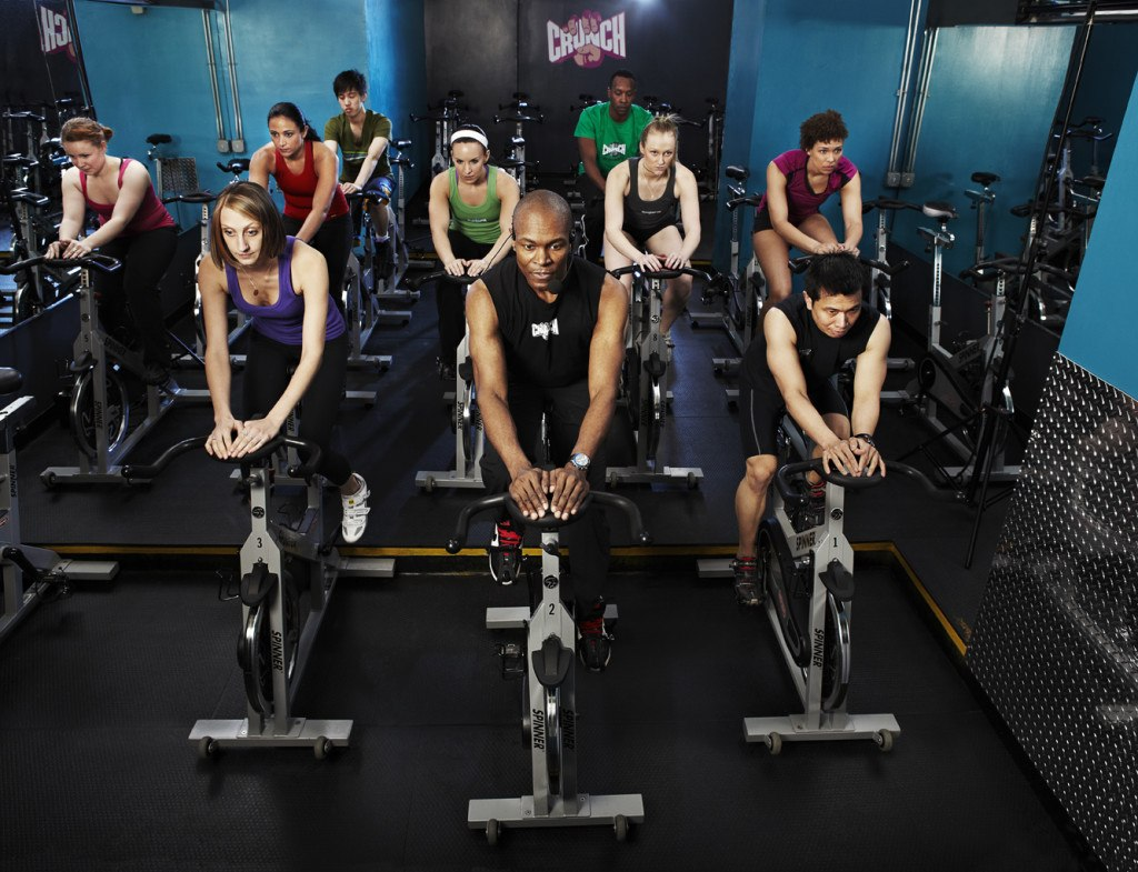 Crunch gives its spin program an upgrade. Will other gyms ...