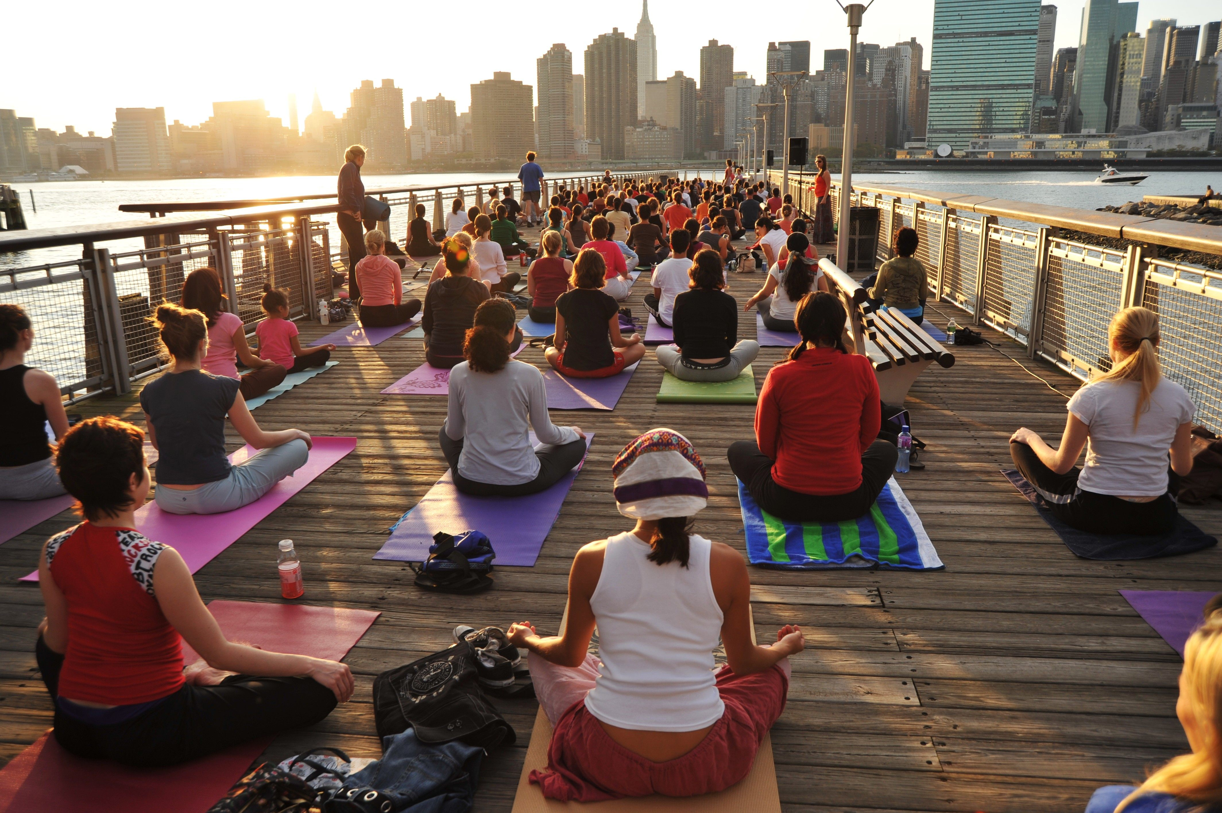Image result for yoga in new york city