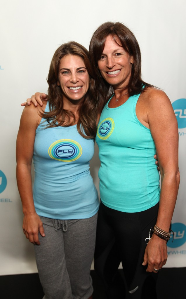 Jillian Michaels and Ruth Zukerman