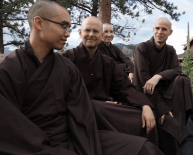 students of Thich Nhat Hanh Monks