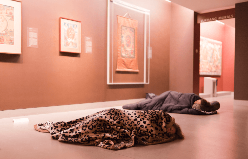 Sleepover at Rubin Museum of Art