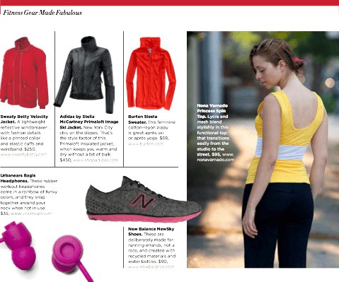 Healthy Holiday Gift Guide fitness fashion