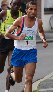 Abdellah Falil finished 7th Marathon
