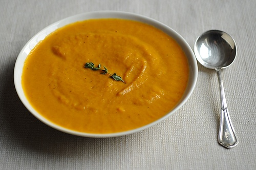 roasted carrot soup roasted carrot soup dinner tonight roasted carrot ...