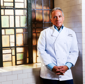 Iron Chef Geoffrey Zakarian cooks at home