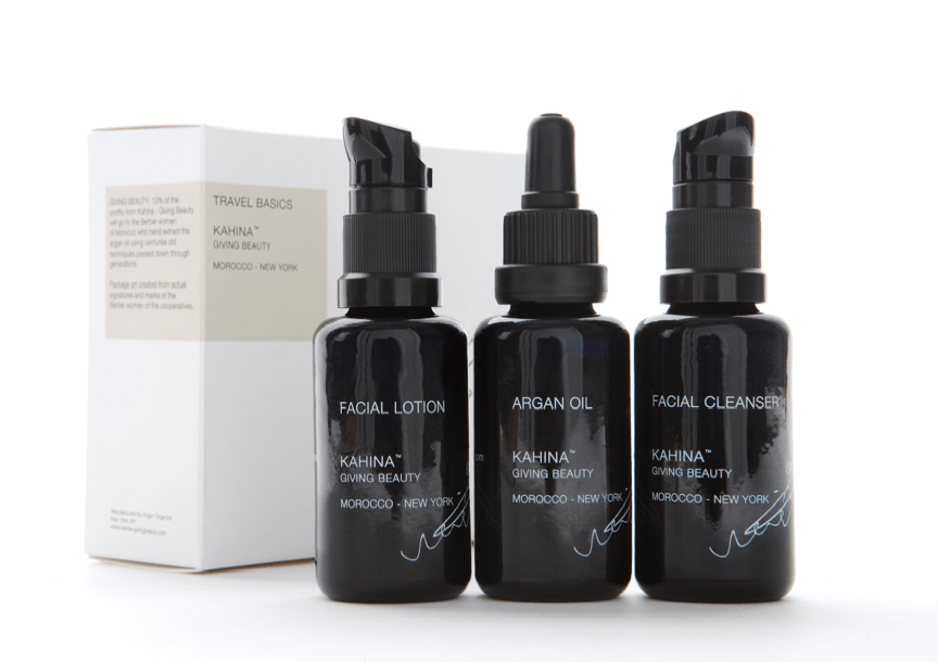 Kahina Giving Beauty Travel Kit