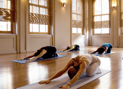 New York City's most beautiful yoga studios