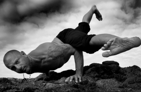 amazing yoga pose Raghunath