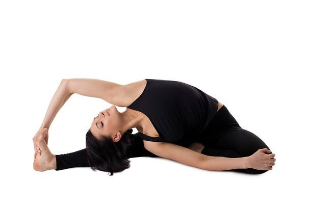 yoga pose heart opener