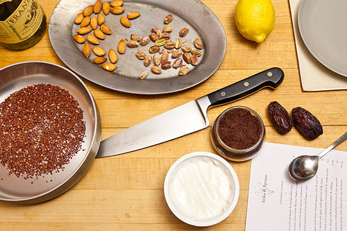 Food 52's Healthiest: Yogurt with Toasted Quinoa, Dates, and Almonds ...