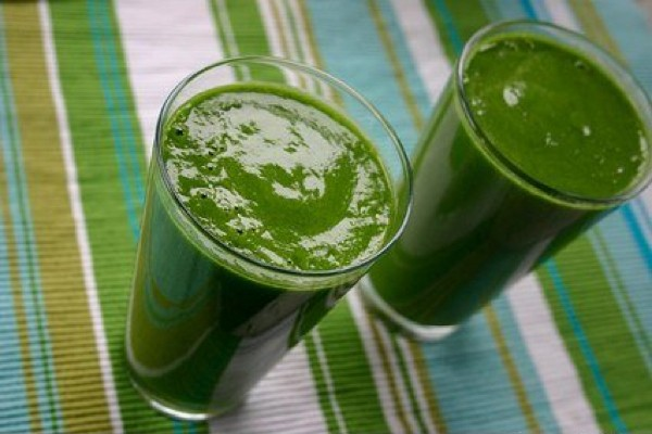 green smoothies for st. patrick's day