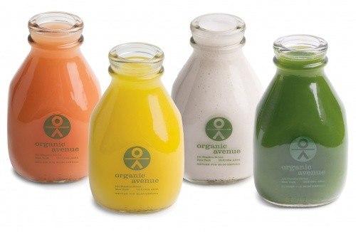 Organic bottles
