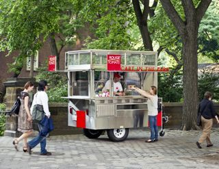 Rouge Tomate Food Cart