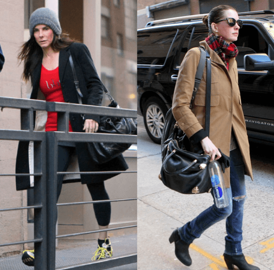 celebrity workout sandra bullock anne hathaway
