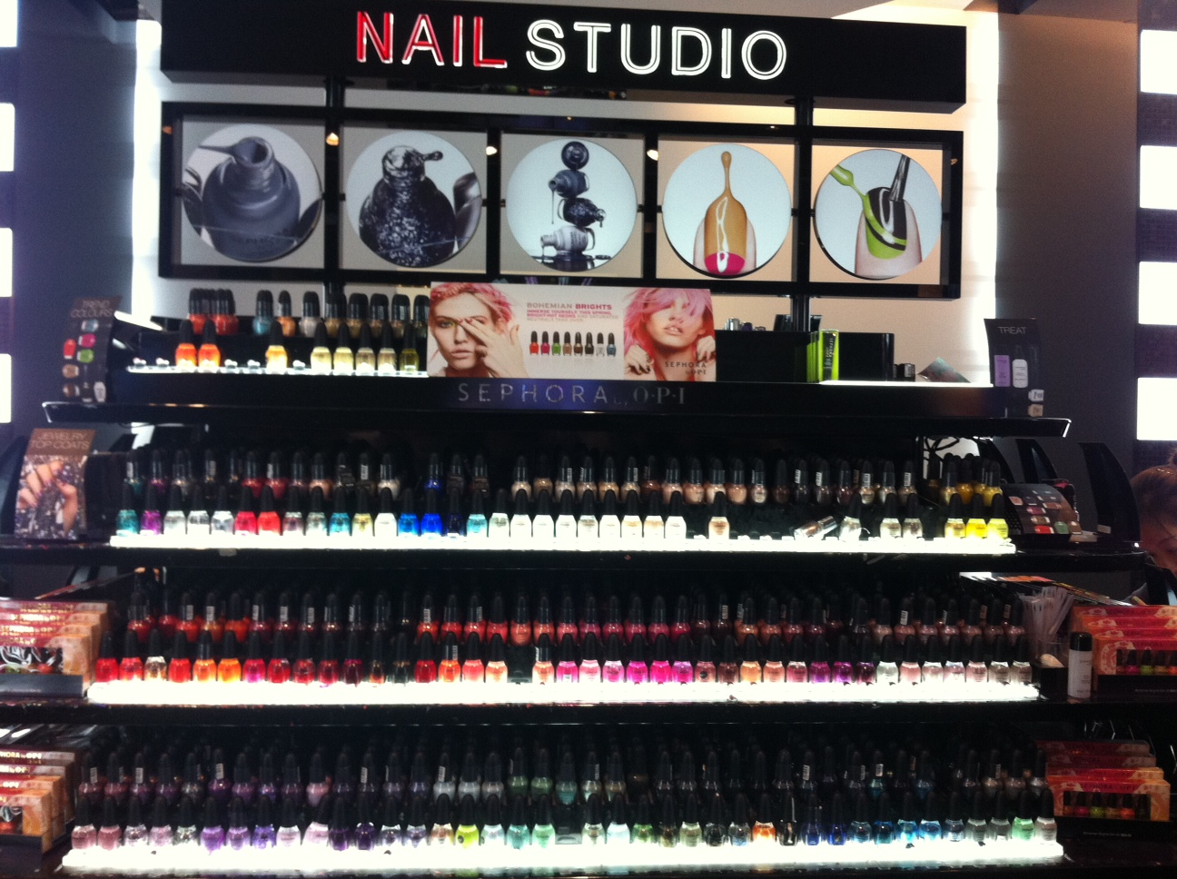 Lash Bar Check Nail Station Check Sephora S New Store: Sephora To Unveil Nail Studios Where DIY Manicures Are A