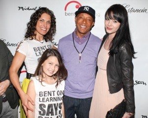 Russell Simmons and Lenka Dayrit