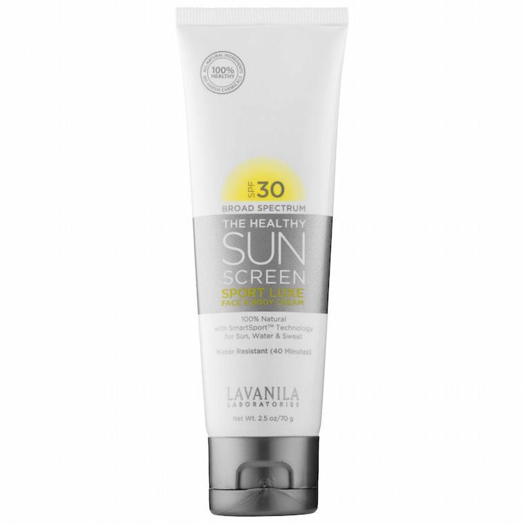lavanila healthy sunscreen sport luxe