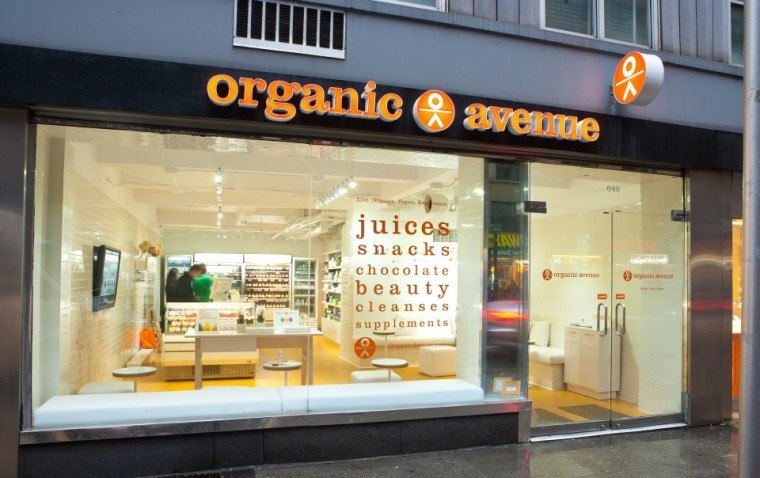 Organic Avenue Pret A Manager makeover
